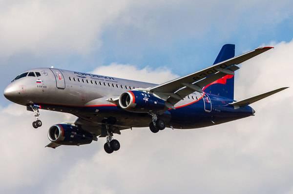 «Аэрофлот» подал иск к«Гражданским самолетам Сухого» на2,1 млрд руб.