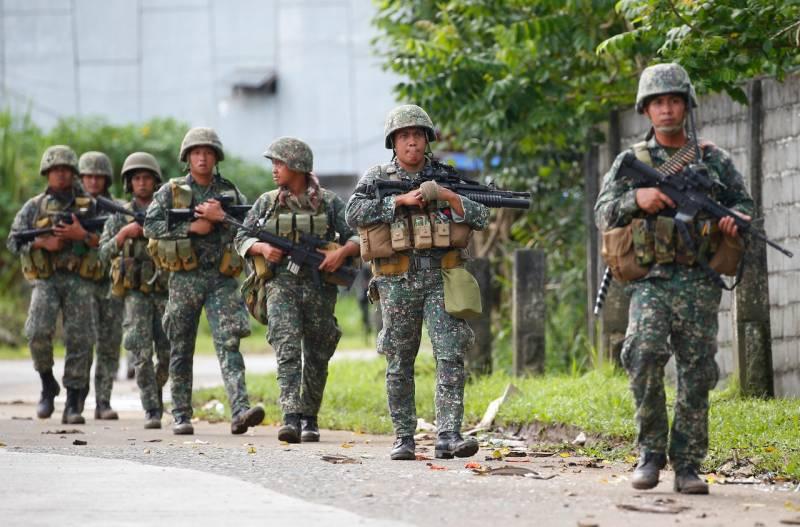 НаФилиппинах устранили исламистов изЧечни