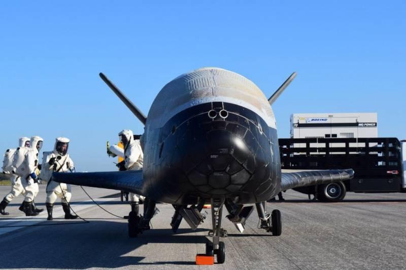Засекреченный космический аппарат США завершил 2-летнюю орбитальную миссию
