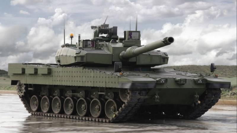 Украинский двигатель для турецкого танка