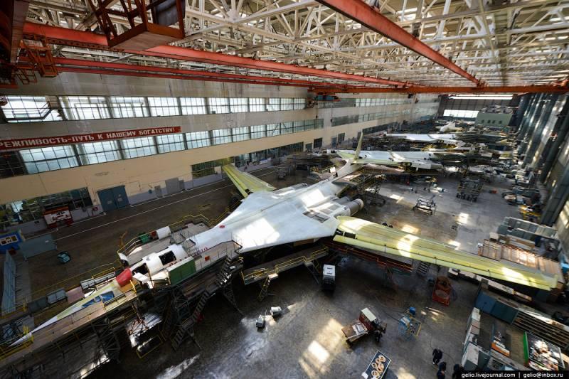 На Казанском авиазаводе приступили к сварке титановых элементов Ту-160