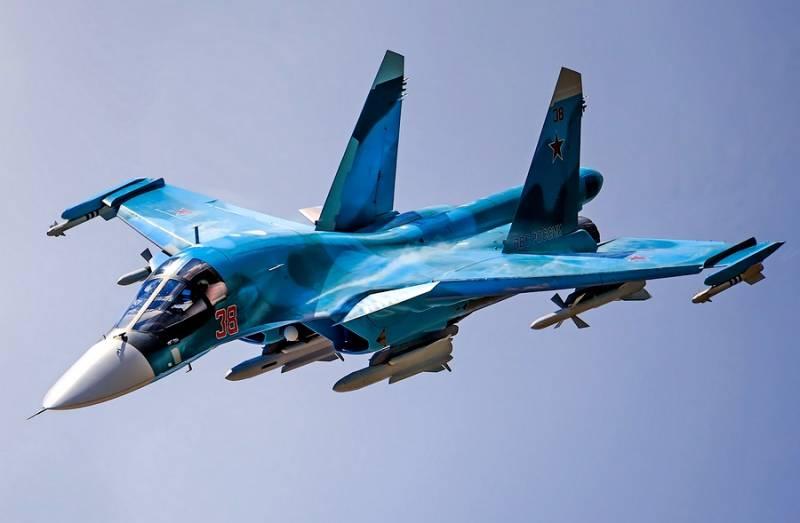 Су-34: воздушный бой