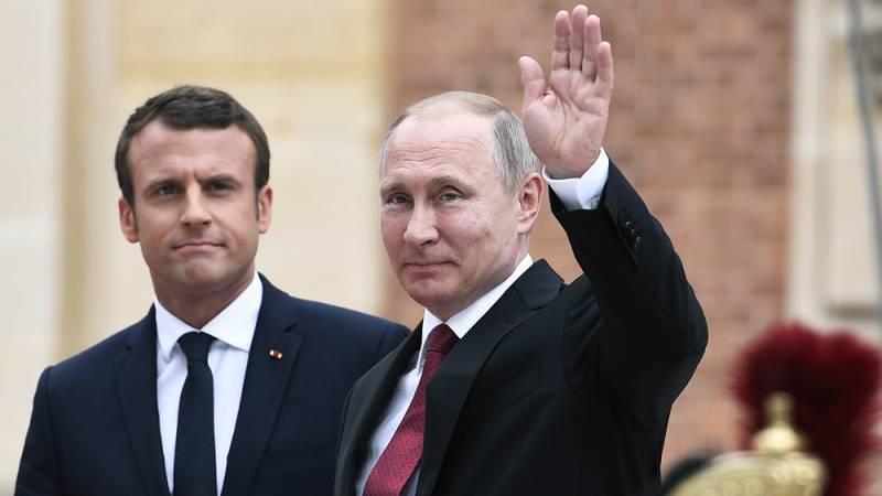 Итоги встречи Путина с Макроном