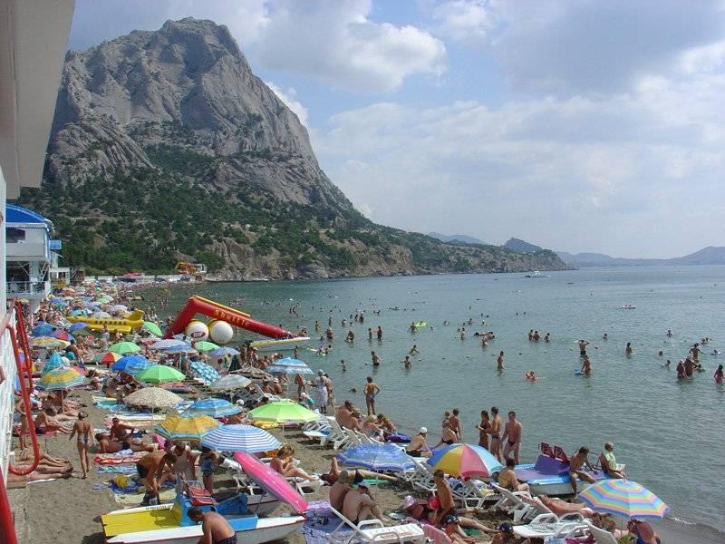 Об удивляющихся украинских туристах в Крыму