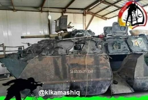 Очередная иракская модернизация БТР-80УП