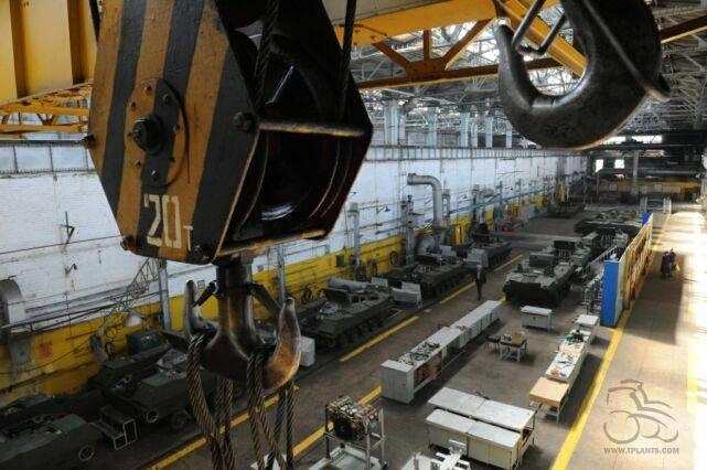 Состояние бывшего Волгоградского тракторного завода
