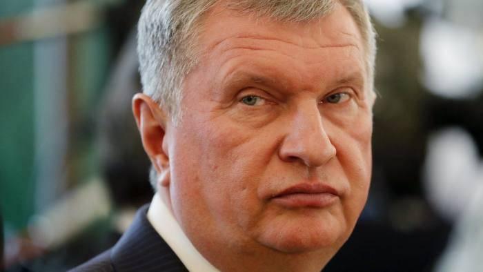 Шеф «Роснефти»: цель санкций — «повлиять на выборы»