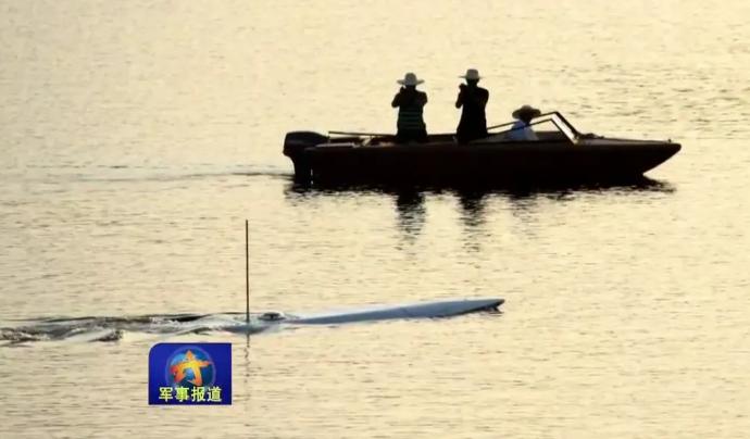 中国は水中船を開発しています