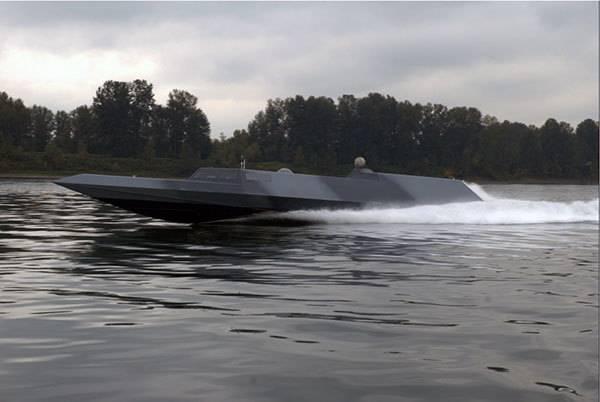 Спецназ ВМС США заказал новые быстроходные стелс-катера