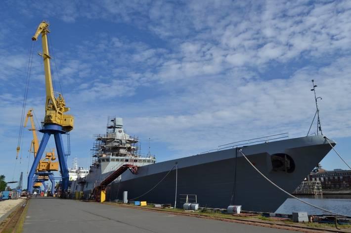 Северная верфь начала испытания дизель-генераторов на фрегате «Адмирал флота Касатонов»