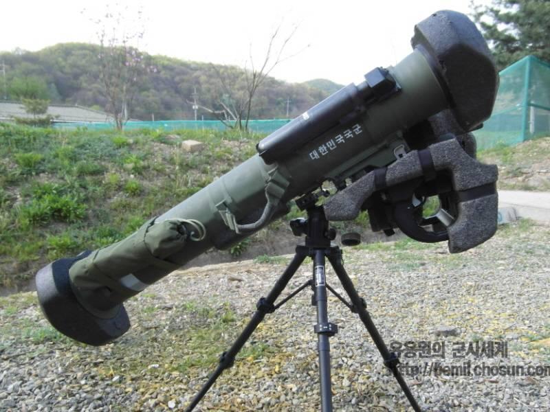 Противотанковый ракетный комплекс Hyeongung (Республика Корея)