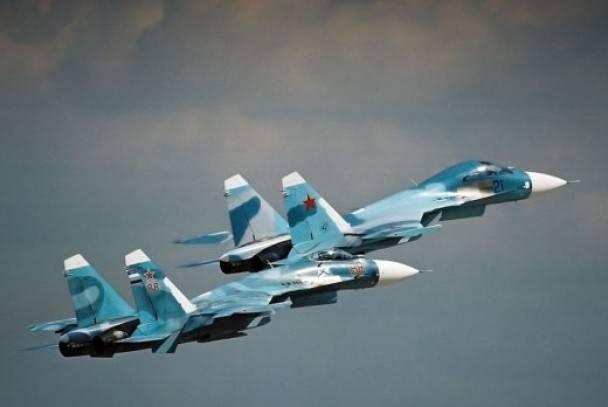 Су-27 подняты по боевой тревоге в Крыму
