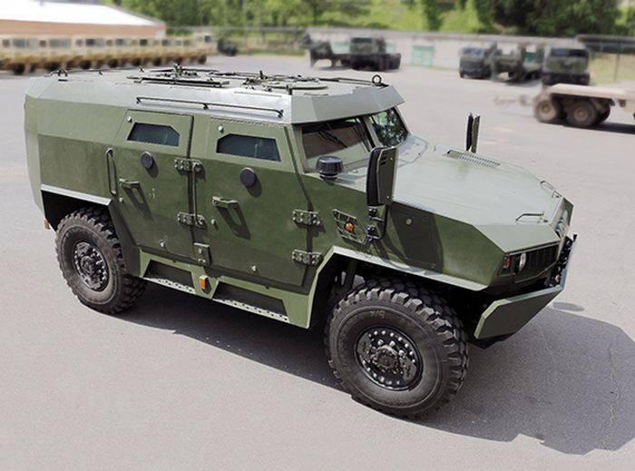 Бронеавтомобиль Volat V-1 / МЗКТ-490100 (Республика Беларусь)