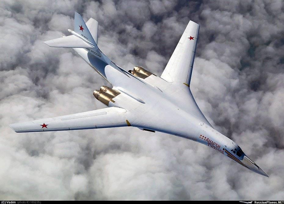 Улучшенный ракетоносец Ту-160М2 взлетит в следующем 2018