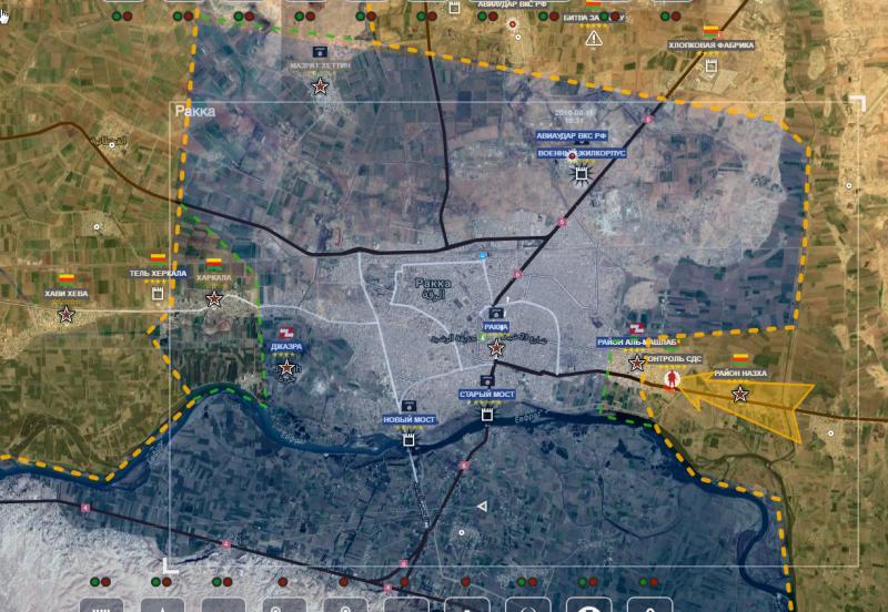 ВВС Сирии отомстили США заавианалет, ударив по североамериканским союзникам вРакке