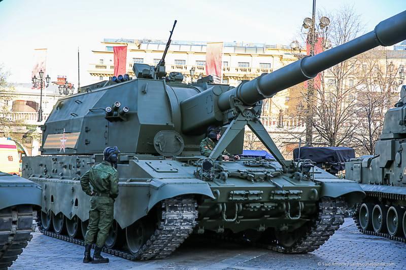 Tekhmash:Koalitsiya-SV自动榴弹炮的新弹药将在2-3年内出现
