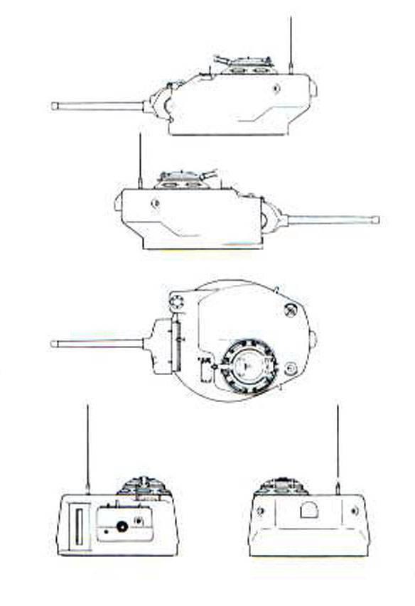 Прожекторный танк «E» / T52 (США)