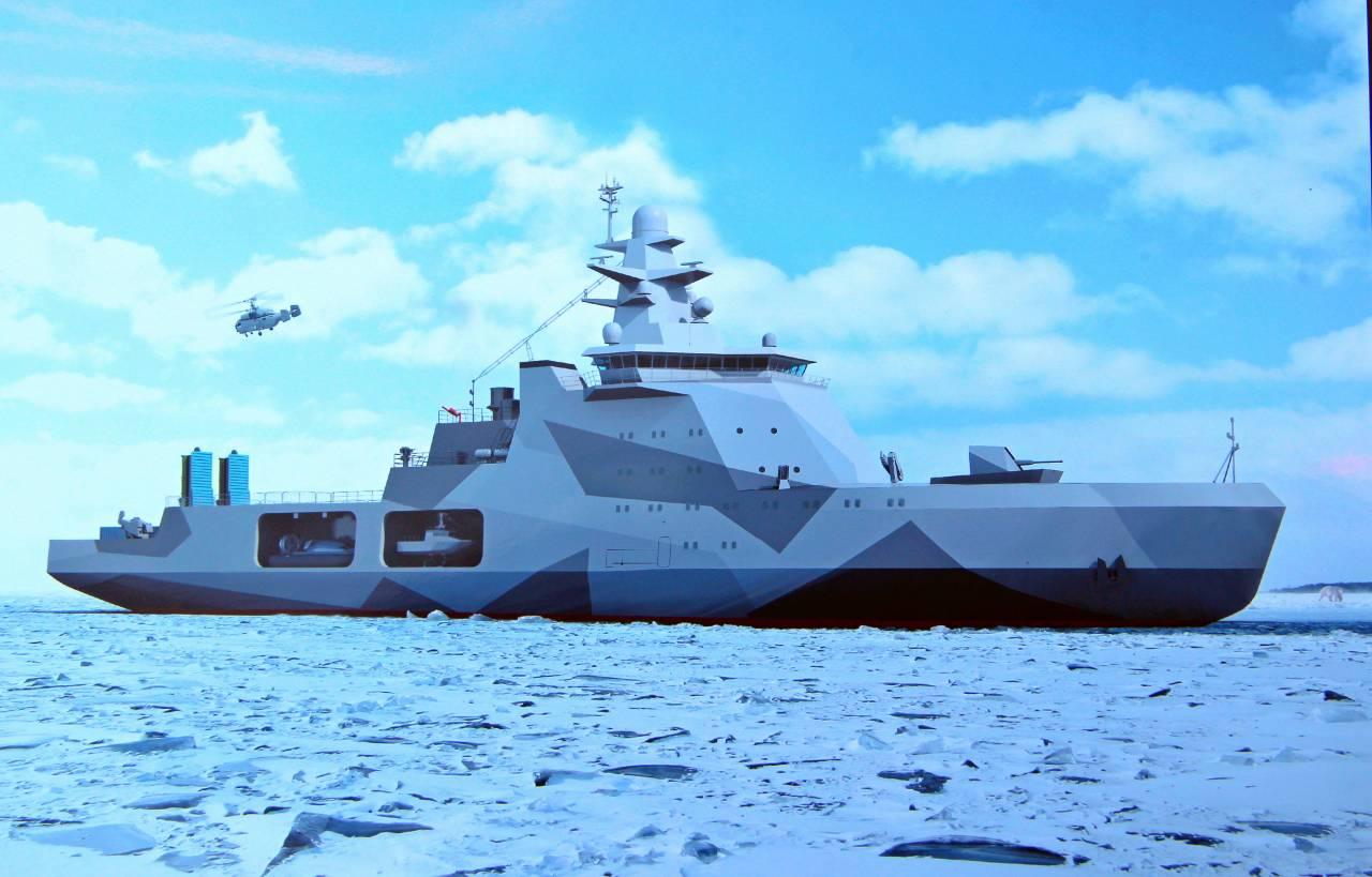 Новый корабль россии 2018