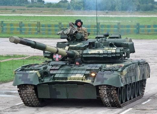 «Модернизированные» Т-80БВ ВСУ остались на уровне 1985 года