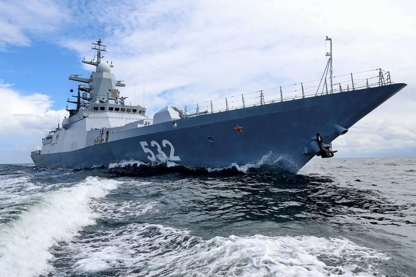 Минобороны сообщило овыходе отряда кораблей Балтийского флота вСеверное море