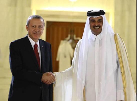 """Эрдоган: """"А я и не замечал, чтобы Катар поддерживал терроризм..."""""""