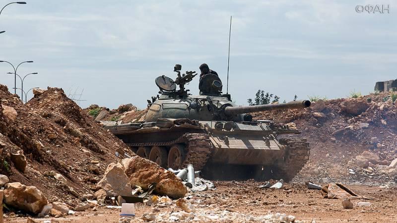 Сирийские войска достигли границы с Ираком