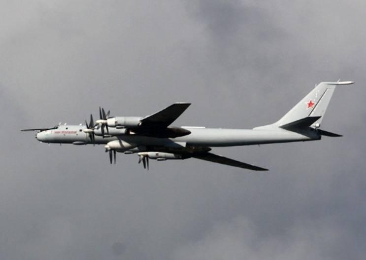 El antisubmarino Tu-142MZ comenzó su entrenamiento en el Lejano Oriente