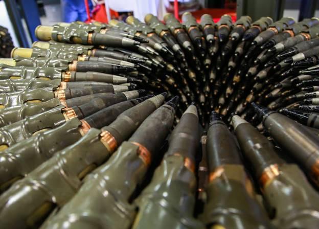 Se está creando una división de municiones en Rostec.