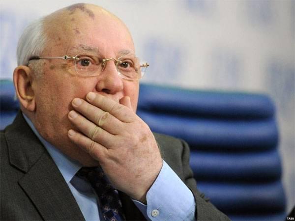 Горбачёв: Я не понимаю претензий Путина по вопросу устных договорённостей о нерасширении НАТО