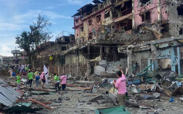 Что делает американский военный контингент в филиппинском Марави?