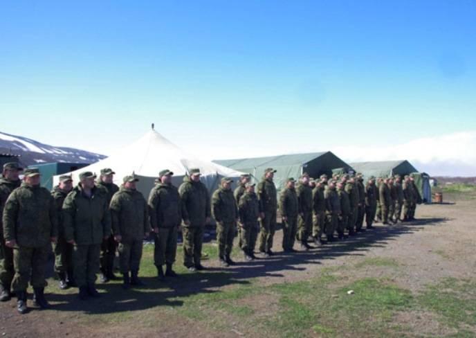 На острове Матуа обустроен полевой лагерь совместной экспедиции