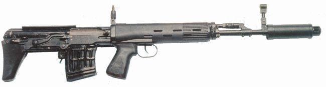 Снайперская винтовка ОЦ-03М