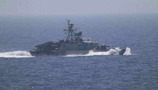 Катер ВМС Ирана направил лазерный луч наамериканский вертолет— Пентагон