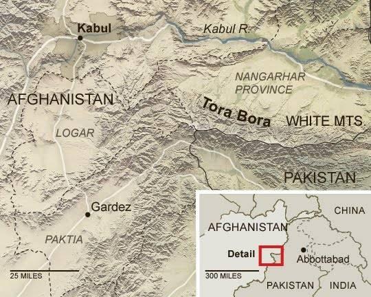 ИГ* заявило о захвате пещерного комплекса Тора-Бора в Афганистане