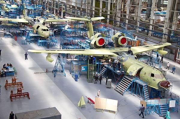 Второй в этом году самолет Бе-200ЧС будет передан заказчику в конце июня