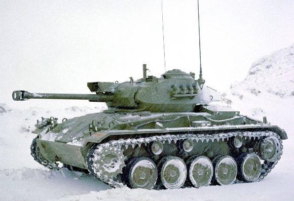 Легкий танк NM-116 (Норвегия)