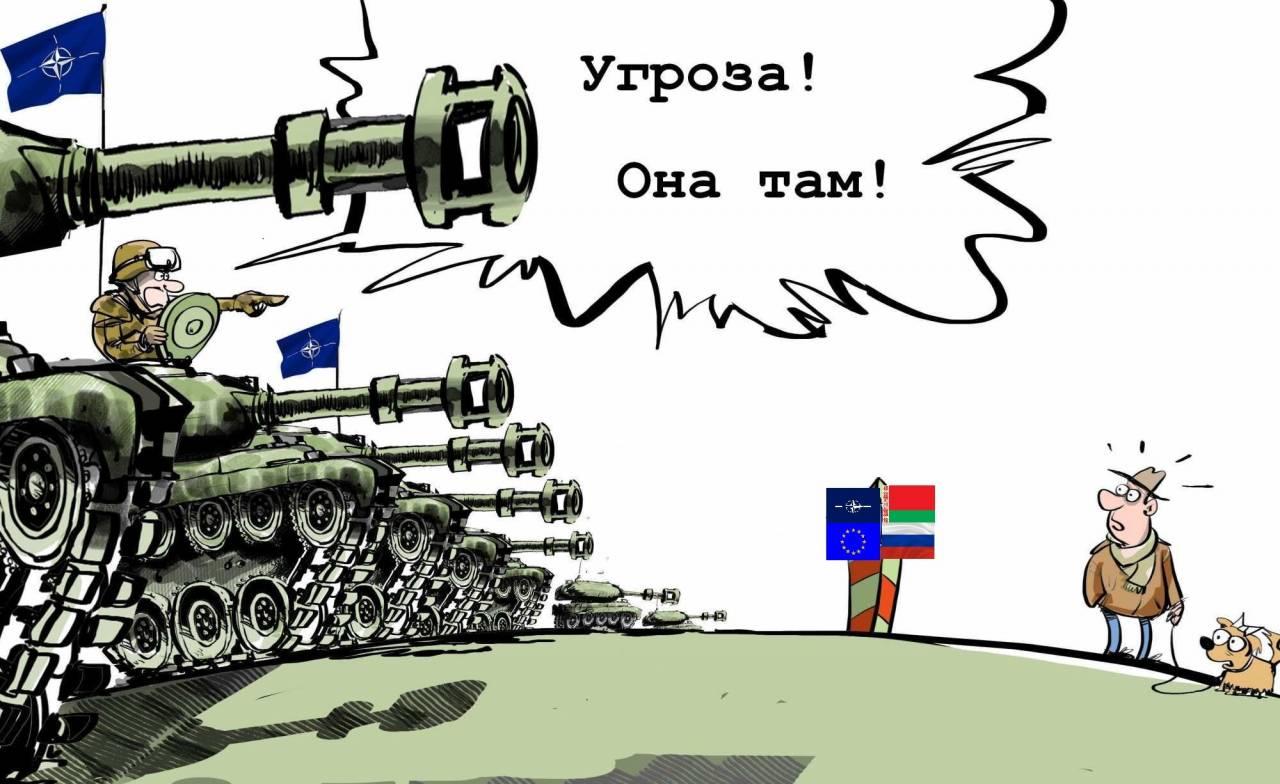 НАТО заявило о готовности силой взять Калининград и Минск