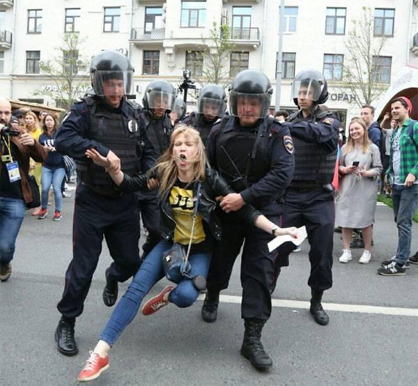 """О том, как на самом деле задерживали """"непримиримых"""" 12 июня"""
