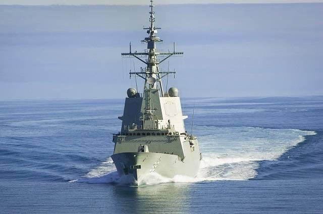 """Австралия приняла на вооружение первый эсминец с системой """"Иджис"""""""