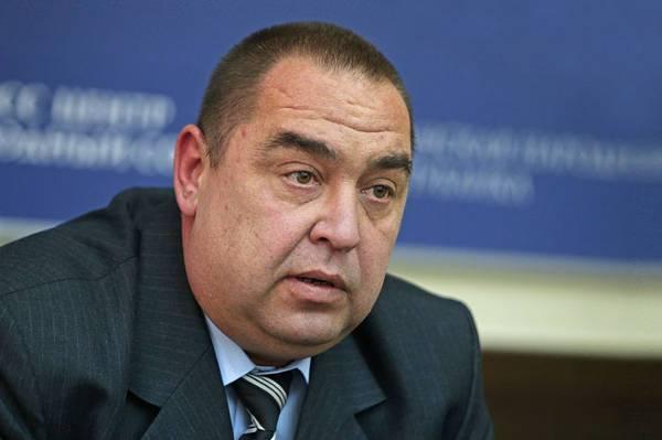 Глава ЛНР: Украинские