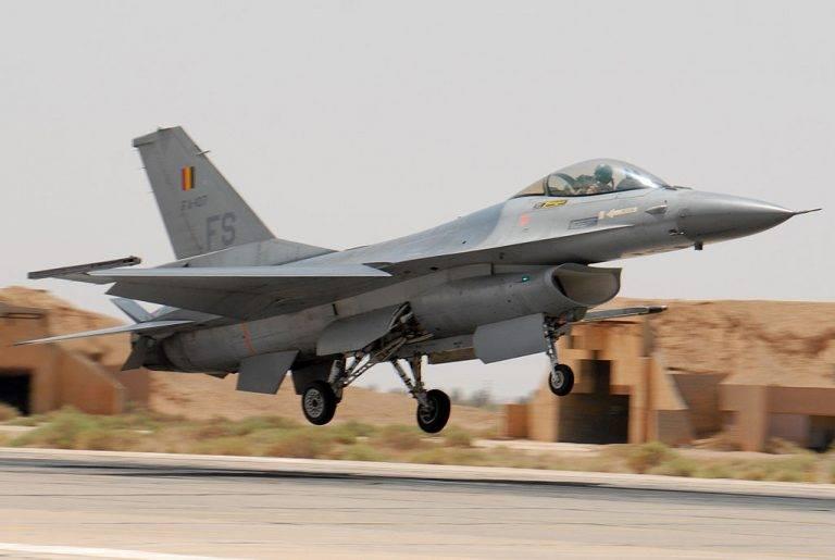 Бельгия продлила участие своих ВВС в коалиции США в Сирии и Ираке