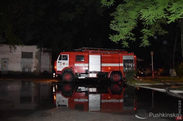 Пожар произошел вмногоэтажном здании  минобороны Украины вОдессе