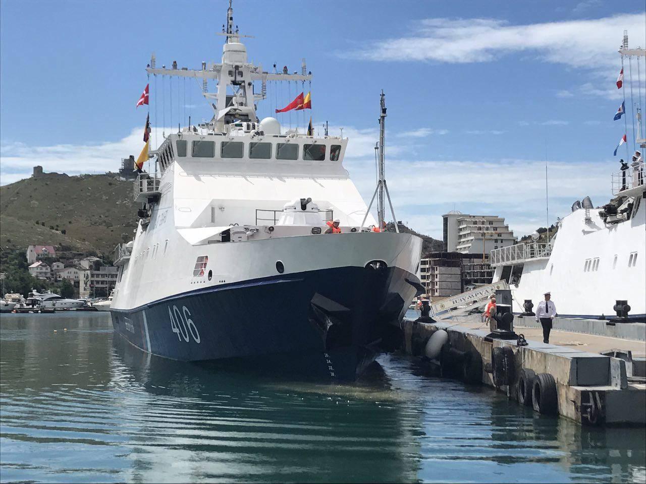 Пограничный сторожевой корабль «Проворный» прибыл вБалаклаву