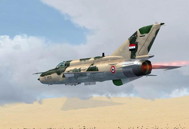 США сбили самолет ВВС Сирии