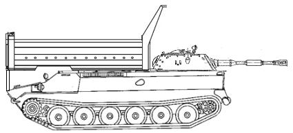 Ретирадный танк «Порось»
