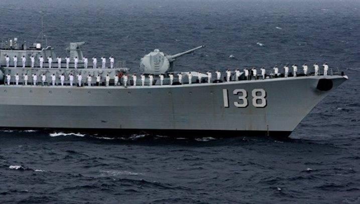 Суда ВМФ Китайская народная республика  выдвинулись кСанкт-Петербургу для «Морского взаимодействия»