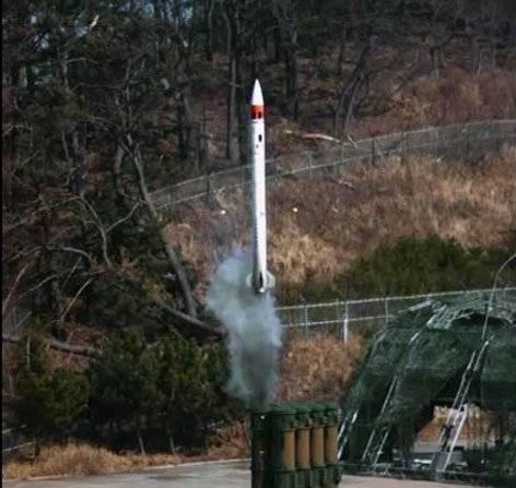 韩国发射了cheongung拦截导弹
