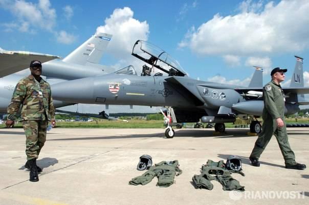 Коалиция США решила передислоцировать свои самолеты в Сирии