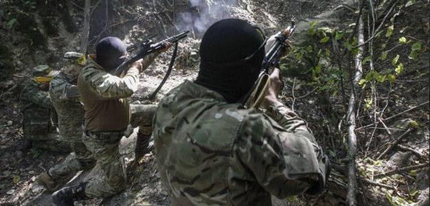 Бой турецких пограничников с представителями РПК на востоке Турции