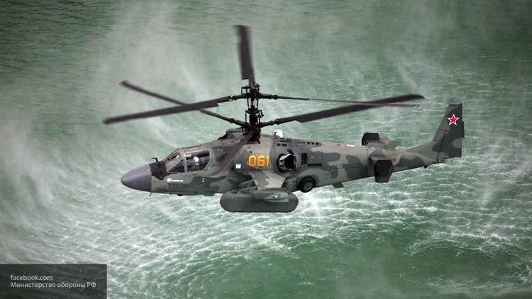 Ка-52К дорабатывают под нужды МО РФ